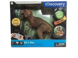 discovery rc trex radio controlled action dinosaur