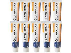 family care clotrimazole anti fungal cream, 1% usp compare to lotrimin 1oz. 10 pack