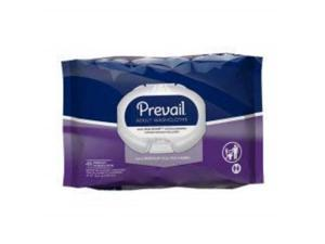prevail quilted cleansing wipes, 8 x 12 in., case/576 12/48s