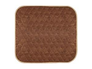"""americare absorbent washable waterproof seat protector pads 21""""x22""""  brown"""