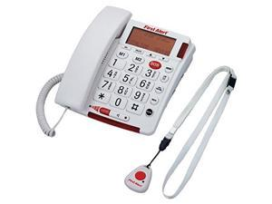 first alert sfa3800 big button telephone with emergency key and remote pendant