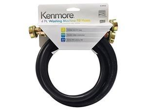 kenmore washing machine fill hoses 4foot, 2pack, 2659025