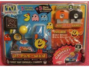 namco ms. pacman plug & play super value gamekey mega pack