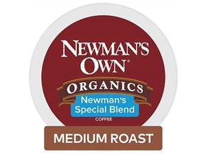 newman's own organics keurig singleserve kcup pods newman's special blend medium roast coffee, 72 count 6 boxes of 12 pods