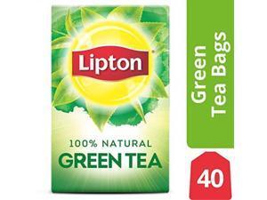 lipton green tea bags, 100% natural tea, 40 ct, pack of 6