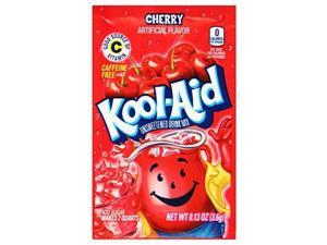 kool aid cherry drink mix 0.13 oz packets, pack of 192