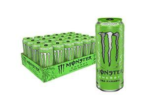 monster energy ultra paradise, sugar free energy drink, 16 oz pack of 24