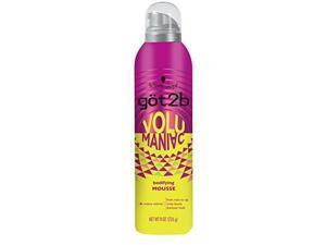 got2b volumaniac hair mousse, 8 ounce