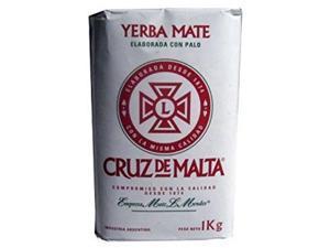 yerba mate cruz de malta x 3 kg argentina tea bag herbal natural drink 6.6 lb !!