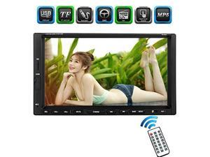 ezonetronics 7inch indash double din touch screen car player car stereo with bluetooth usb sd mp3 mp4 radio for universalno dvd cw9301