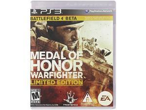 medal of honor warfighter ps3 limited edition w battlefield 4 beta & more