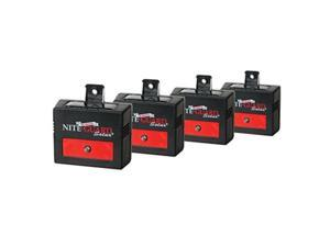 nite guard solar predator control light, 4pack