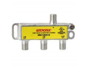 3 way antronix mmc1003hb 51675 mhz moca 2.0 splitter for frontier formerly verizon fios