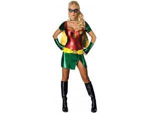 secret wishes batman sexy robin costume, green, s 4/6