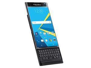 blackberry priv stv1001 at&t unlocked slider android cell phone  black