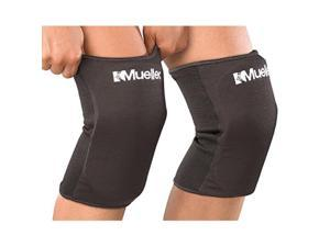 mueller multisport knee pads, 1 pair, black, one size fits most