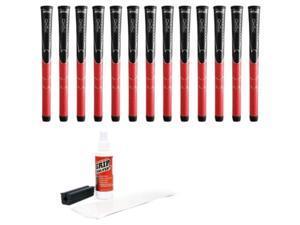 winn dritac standard grip kit 13piece, black/red