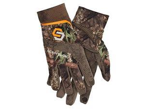 Pack of: 4 Multi-Color Floral Pattern Gardening Gloves GL-58200-Z04