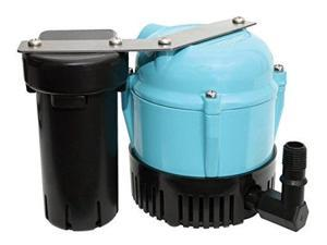 little giant 550521 1abs discharge shallow pan condensate removal pump, 115 volt 205 gph