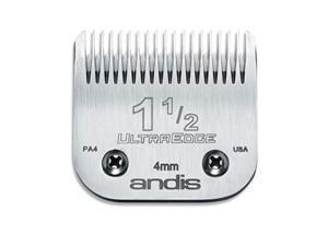 andis carboninfused steel ultraedge clipper blade, size11/2, 5/32inch cut length 64077