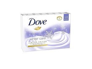 dove winter care beauty bars  14/4oz