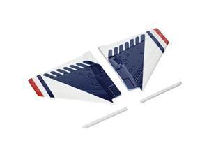 eflite main wing set and missile rails: umx f16, eflu2859