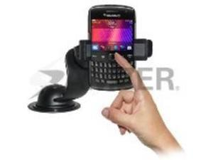 Retail Packaging Amzer AMZ94189 Car Mount and Case System for BlackBerry Curve 9350//9360//9370 Black