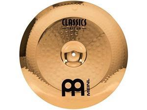 "meinl 16"" china cymbal  classics custom brilliant  made in germany, 2year warranty cc16chb"