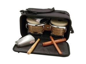 latin percussion lp533bk pro bongo bag
