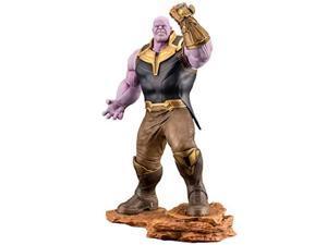 kotobukiya marvel avengers infinity war: thanos 1/10 scale artfx+ statue