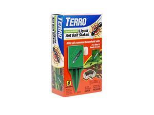terro t1812 outdoor liquid ant killer bait stakes  8 traps