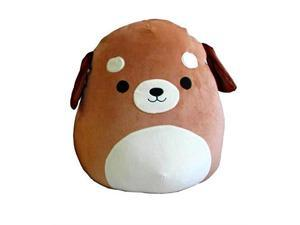 squishmallow large pillow plush toy, 16 inches dog