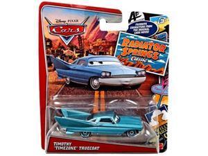 disney/pixar cars, radiator springs classic, timothy timezone turncoat diecast vehicle by disney