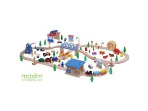 100 piece wooden train set |thomas and friends| brio compatible