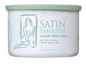 satin smooth aloe vera wax 14 oz