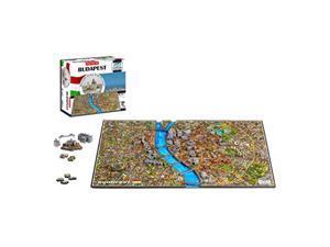 4d cityscape 4d budapest time puzzle 800 piece