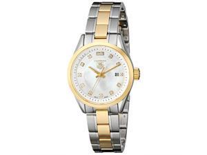 Tag Heuer Carrera Ladies Diamond Mother of Pearl Quartz Watch WV1450.BD0797
