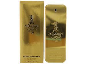 1 million by paco rabanne men's eau de toilette spray 6.8 oz  100% authentic