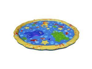 banzai 54indiameter sprinkle & splash play mat