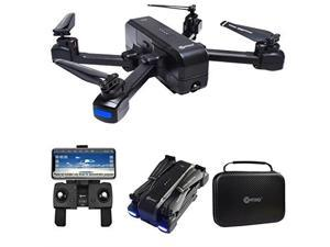 Contixo F22 FPV Foldable Drone with Camera for Adults, Kids, and Beginners - RC Quadcopter with FHD Camera - Gesture Control for Selfie - GPS Auto Return - Follow Me - Carrying Case