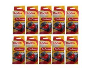 10 funsaver flash 800 asa 27 exp single use flash 35mm camera