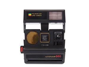 polaroid originals 4711 sun 660 autofocus camera, black
