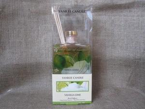 yankee candle 1166348 vanilla lime signature reed diffuser 3 oz