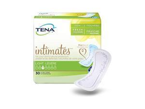 tena intimates light ultra thin pads regular length 30 countpack of 2
