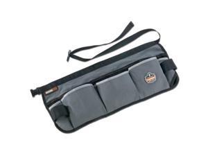 arsenal 5706 canvas waist tool apron with 13 pockets, gray
