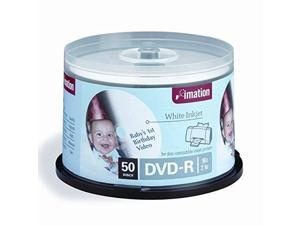 imation imn17350 dvd recordable media, dvdr, 16x, 4.70 gb, 50 pack spindle