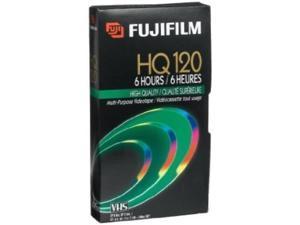 fuji hq t120 vhs video cassette 7 pack discontinued by manufacturer