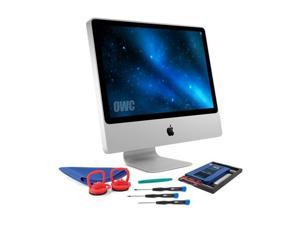 """owc 480gb ssd upgrade bundle for 20062009 imacs, owc 480gb mercury extreme pro 6g ssd, adaptadrive 2.5"""" to 3.5"""" drive converter bracket, installation tools"""