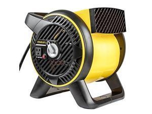 stanley st310a120 heavyduty utility blower 120 volt yellow, black