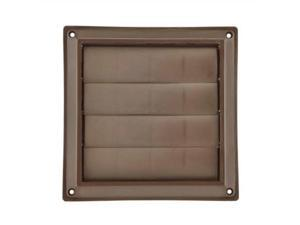 "lambro industries 361b 6"" brown plastic louver vent"